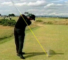 Tiger Wood's golf swing training
