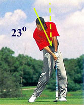 Tiger Woods drives 1