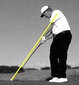 Jack Nicklaus ballistic golf swing