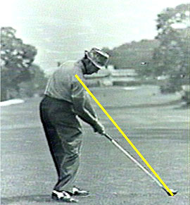 Golf swing Sam Snead golf grip 2