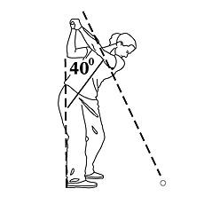 Golf swing #1.